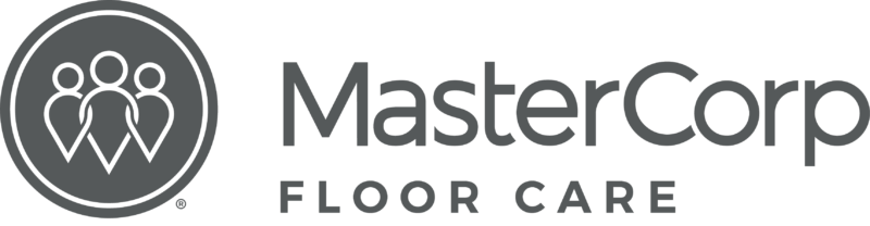 MasterCorp Logo - the words MasterCorp in black and Floor Care in grey.