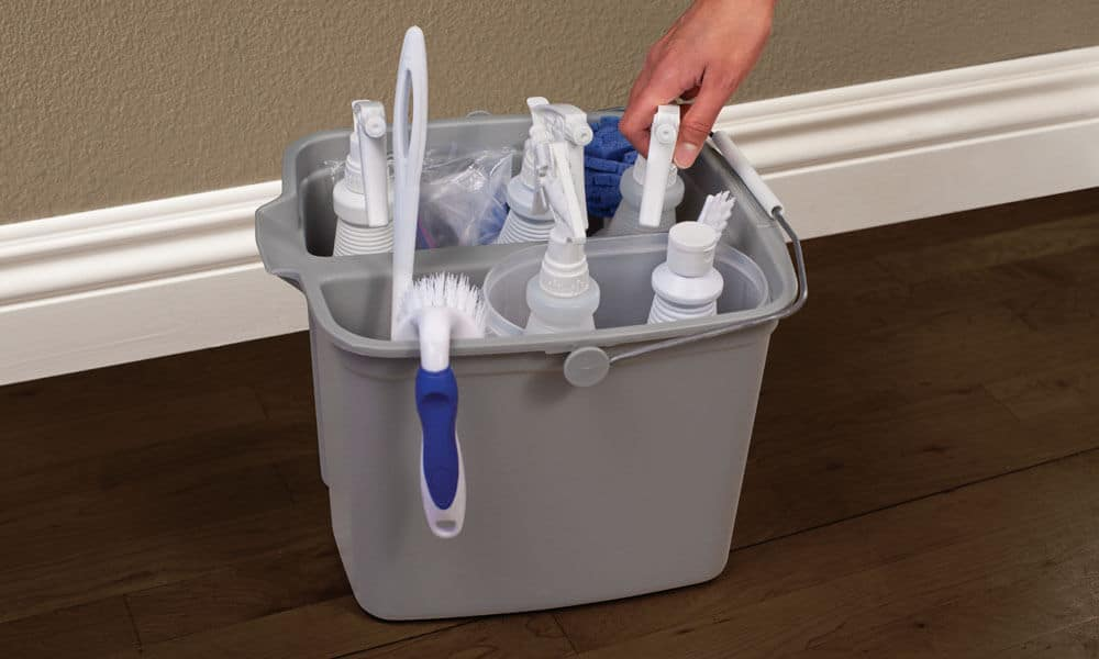 Cleaning supply caddy organizer. News | MasterCorp